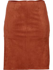 Sheego Style - Jupe sheego Style en similicuir velours