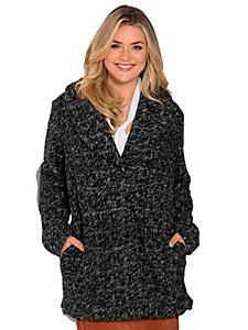 Sheego Style - Veste boutonnée en tricot épais pour femme