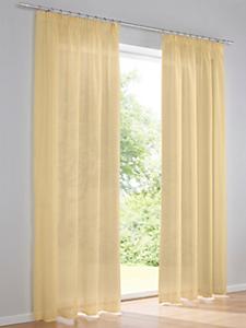 helline home - Voilage semi-transparent en textile texturé