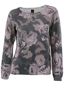 B.C. Best Connections - Pull imprimé à fleurs et motif camouflage