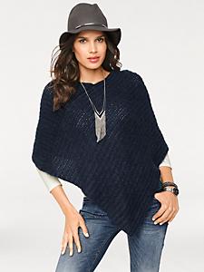 helline - Poncho en tricot confortable et tendance