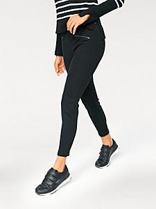 MAC - Pantalon femme 7/8 effet ventre plat, ligne étroite