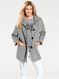 B.C. Best Connections - Manteau femme en laine, fermeture à boutons