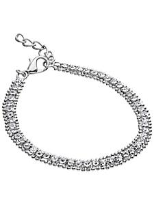 helline - Bracelet fin serti de strass élégants