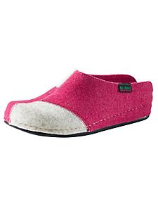 helline home - Chaussons confortables en feutrine bicolore