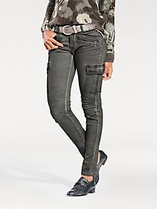 B.C. Best Connections - Pantalon cargo, avec des poches plaquées