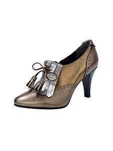 helline - Escarpins montants en cuir, style mocassins
