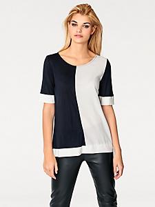 Rick Cardona - T-shirt fluide élégant à manches courtes pour femme