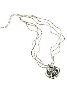 helline - Collier bijoux à pendentif en pierre original