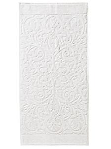 Cawoe - Serviette éponge en coton, fibre à arabesques