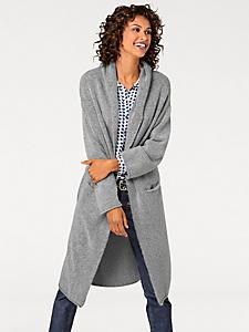 B.C. Best Connections - Manteau en tricot épais, coupe longue pour femme