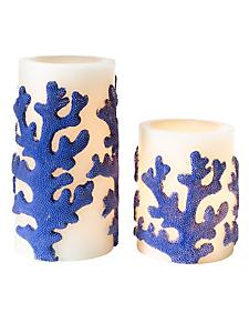 helline home - Lampe décorative bougie, lot de 2