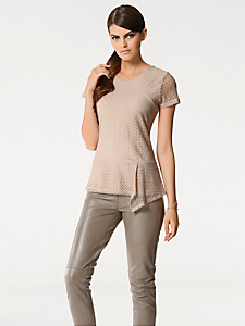 Patrizia Dini - T-shirt en dentelle