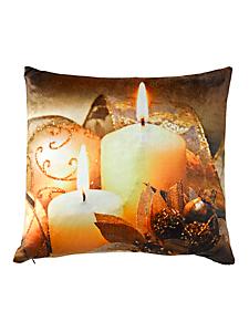 helline home - Housse de coussin lumineuse, motifs bougies