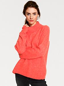 B.C. Best Connections - Pull-over ample en tricot doux et col montant