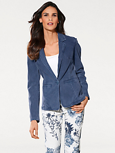 Ashley Brooke - Blazer Bodyform en jean