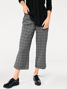Rick Cardona - Jupe culotte imprimée à carreaux, coupe ample