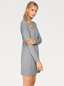 B.C. Best Connections - Robe pull col roulé en tricot, manches amples