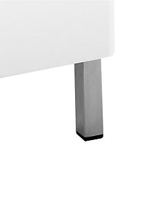 helline home - Pieds en métal pour meuble de salle de bains, lot de 4