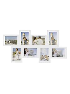 helline home - Cadre photo pêle-mêle 8 emplacements
