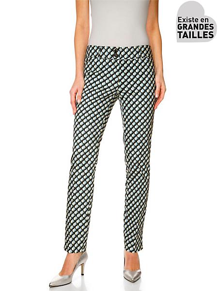 Patrizia Dini - Pantalon imprimé à motif graphique pour femme