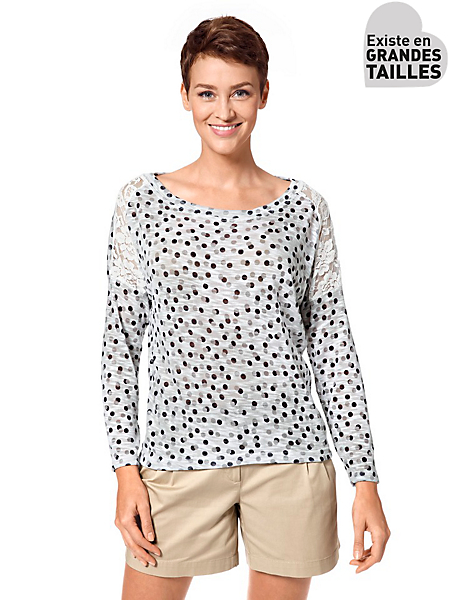 helline - Pull-over en tricot fin