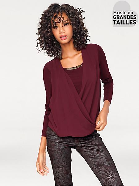 Ashley Brooke - T-shirt chemisier Bodyform