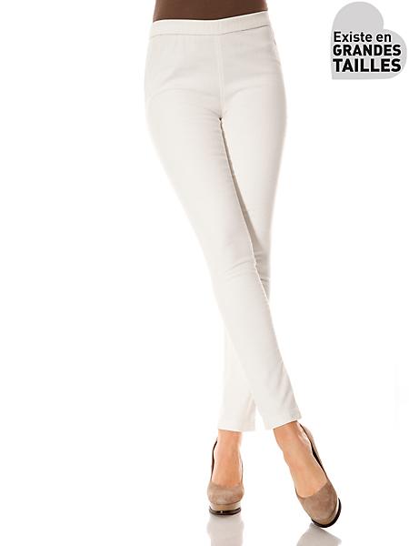 B.C. Best Connections - Leggings confortable en velours et taille élastiquée