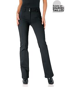 Ashley Brooke - Pantalon femme amincissant, coupe bootcut tendance