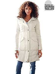 B.C. Best Connections - Manteau doudoune femme mi-longue à grandes poches